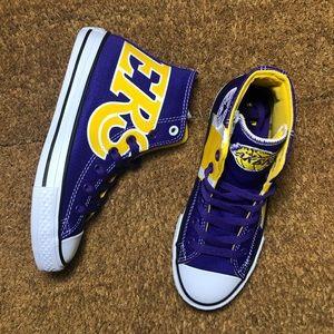 Converse Chuck Taylor Hi Lakers NWT